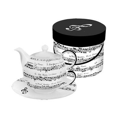 adagio music note tea-4-one set