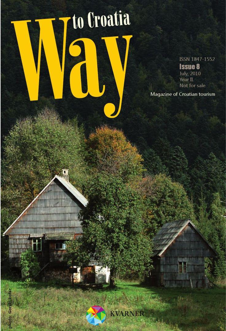 Way to Croatia No.8  Magazine of Croatian Tourism