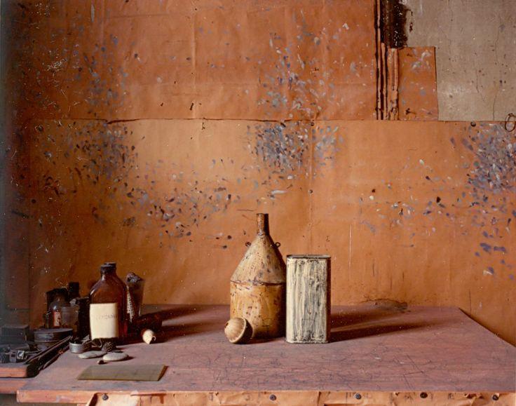 Still Life by Giorgio Morandi in his Studio