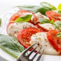 Main Ingredients | Caprese Salad with White Wine Vinaigrette Dressing Recipe | Recipe4Living