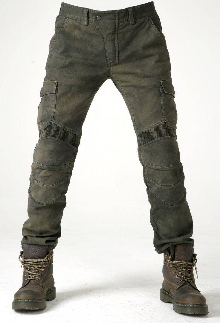 Los pantalones es perfecto enverno. Este pantalones es verde