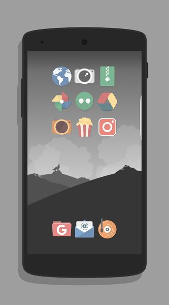 Magme – Icon Pack v3.0Requirements: 4.2+Overview: This icon pack features 	– 1100+ high quality icons, alot more are coming! 	– Many alternative icons to choose from!   	  	– Good amount of drawers and folder icons!  	– Regular updates! 	– 30+ Wallpapers in...