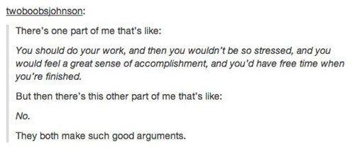 Such good arguments.