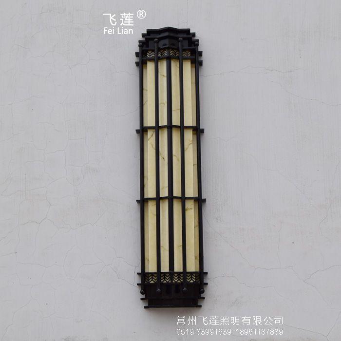 告标�_酒店门口迎宾灯户外高难度异形非标豪华不锈钢复古外墙仿云石