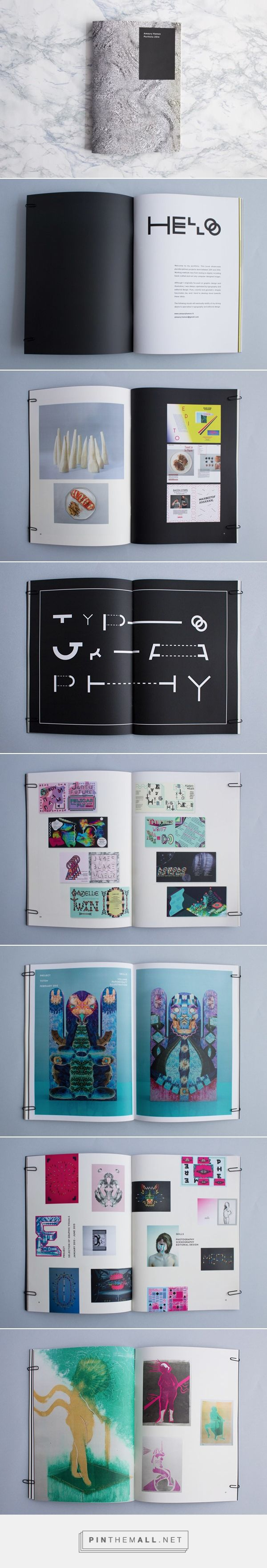 Printed Portfolio on Behance - created via http://pinthemall.net