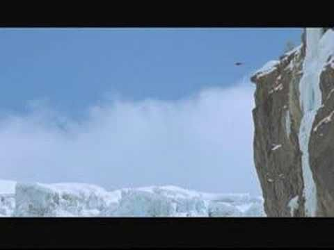 Shane - Ski & Base Jump - Watch this skier go right over the edge, fun stuff!