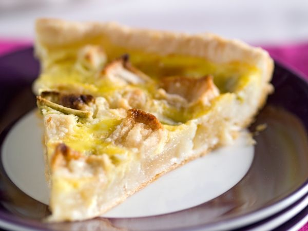 Snelle taart met rabarber - Libelle Lekker!