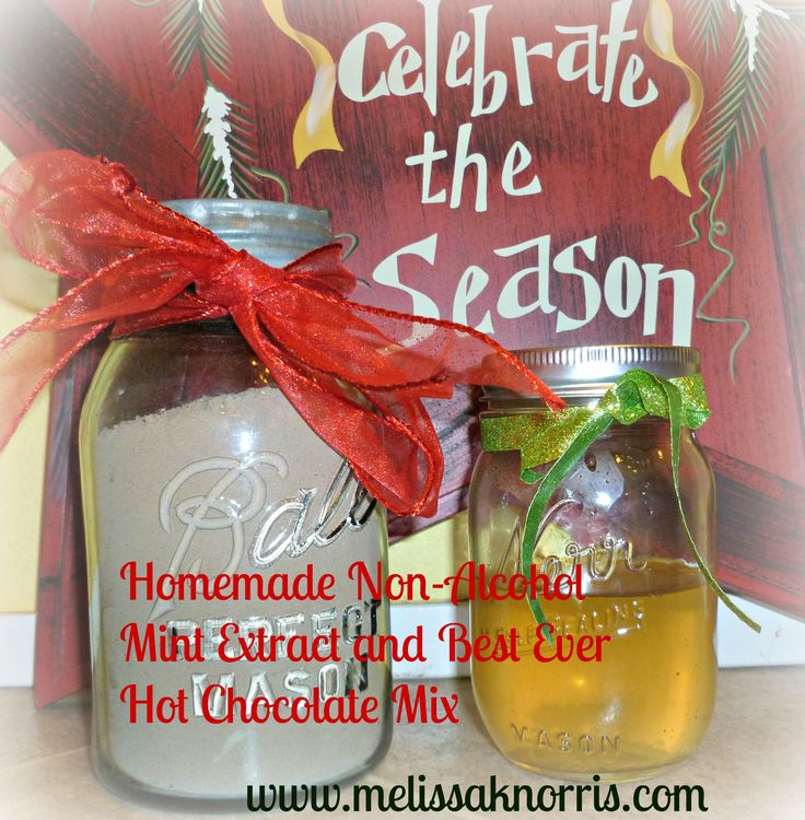 Pioneer Homemade Christmas Day 2- How to Make Non-Alcohol Mint Extract | Melissa K. Norris