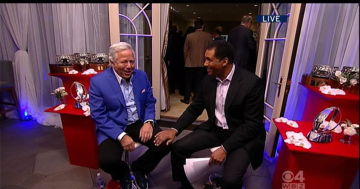 Steve Burton sits down with Patriots Owner Robert Kraft at his home. The two discussed the Patriots success through his years of ownership and more.