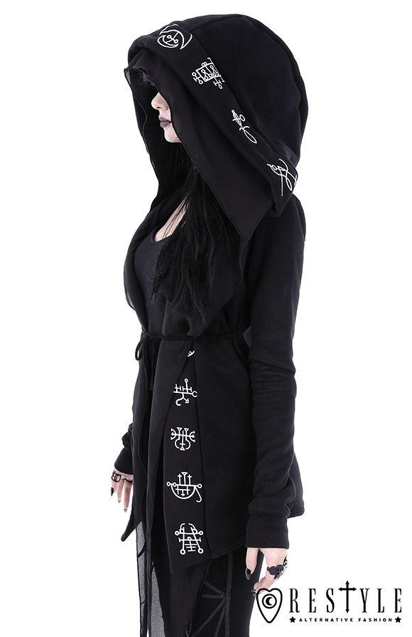 eb39d633c55 Demon hoodie restyle.pl  goth  altfashion  3 Djobido