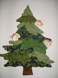 Jardín de Patchwork de Manoli: Árbol de Navidad