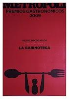 Premio mejor decoración del 2008 a Pingpong arquitectura por La Gabinoteca.