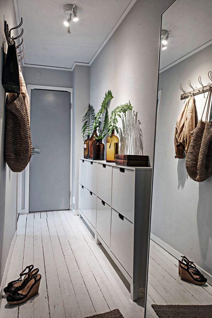 1001 Idees Pour La Decoration Et L Amenagement D Entree Reussie Deco Entree Maison Decorer Un Couloir Deco Entree