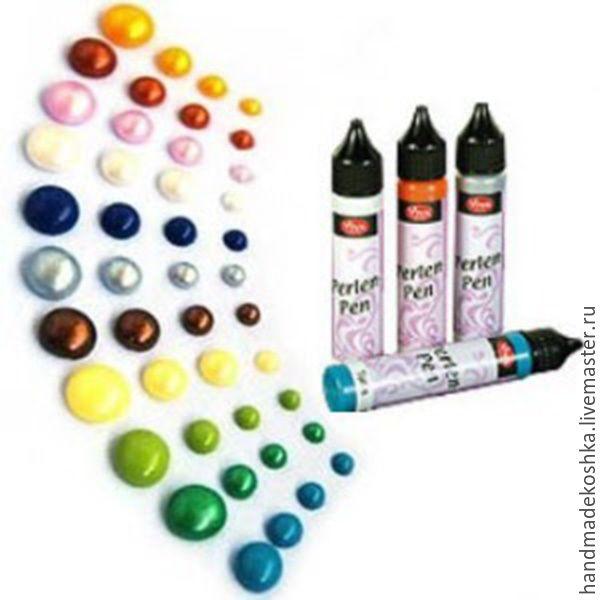Купить Краска для созд.жемчужин PerlenPen Viva - разноцветный, краска, краска по стеклу, краска по ткани