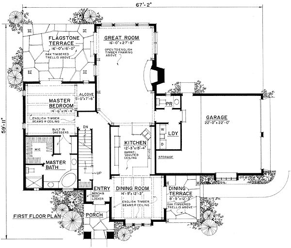 English cottage for Old english cottage house plans
