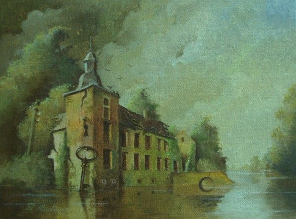 Peter Meuleners, surrealisme, surrealistische kunst, surrealits schilderijen, Nederlandse schilder