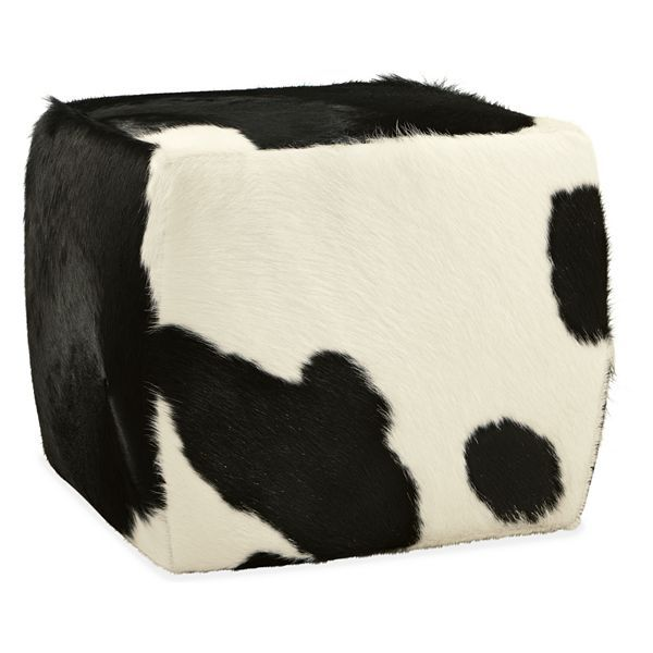 Kennedy Manor Dining Room: 1000+ Ideas About Cowhide Ottoman On Pinterest
