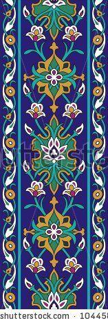 Vector  illustration of arabic ornamental background by Malysh Falko, via Shutterstock