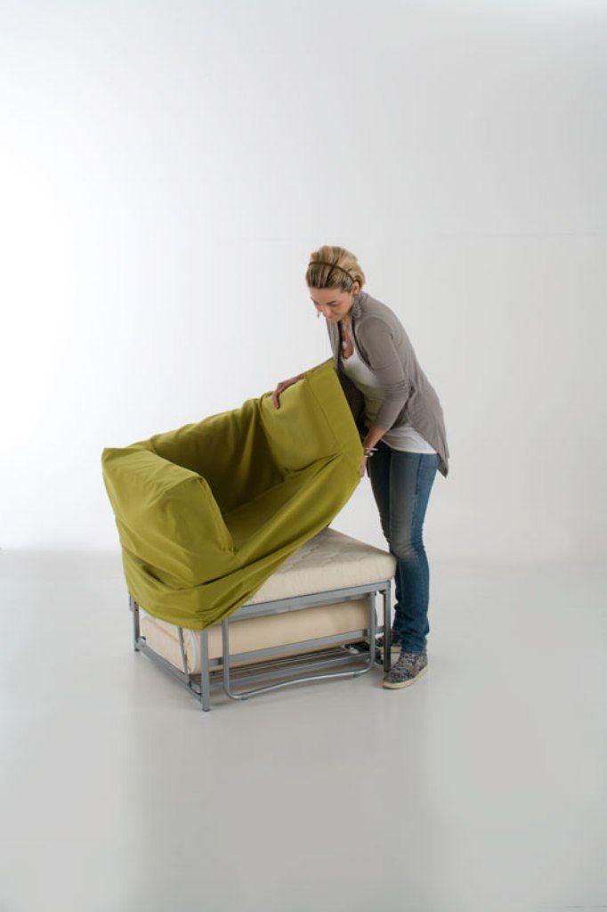 OPLA   poltrona letto con rivestimento sfoderabile Sofa  Club