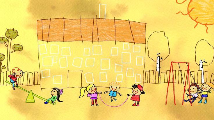 En tegnet dokumentarfilm om børns filosofiske tanker om venskabet på godt og ondt.