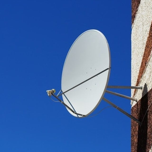 An old satellite dish is the perfect shape for Wi-Fi.