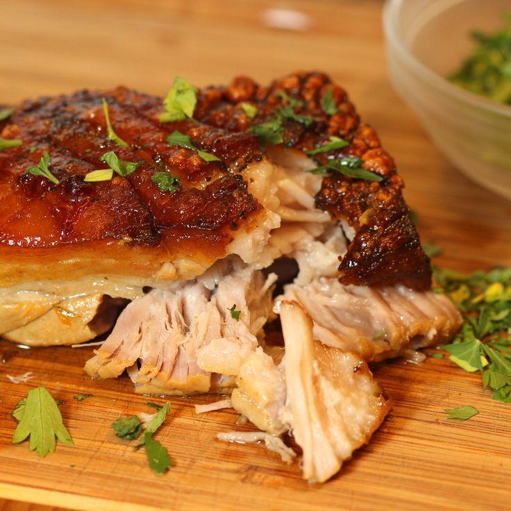 Herbed Pork Belly Roast keviniscooking.com — keviniscooking.com