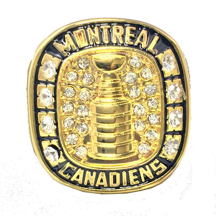 NHL STANLEY CUP 1959/60 REPLICA CHAMPIONSHIP RING MONTREAL MAURICE RICHARD #MontrealCanadiens