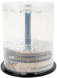 Unhinged Creative - Stickles Storage Container - Double Tier Designer Glitter Glue Holder Einlagen kann man auch in CD-Spindeln einlegen