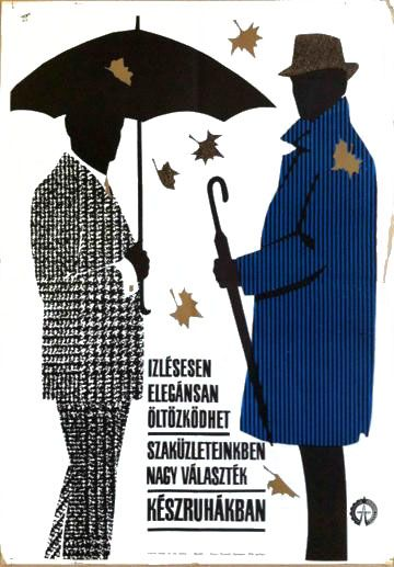 Ready-made apparel (1965) - This poster is now available for 100 USD as part of Budapest Poster Gallery's Winter Sale!