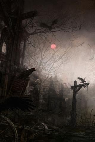 Pin by m on horror and monsters pinterest gothic - Dark horror creepy wallpapers ...