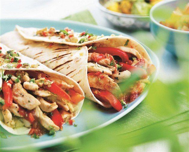 Viva México: grilování s pikantní chutí burritos, fajitas a enchiladas - iDNES.cz