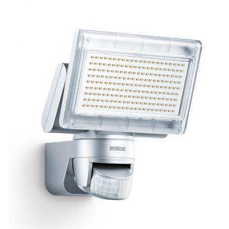 Steinel sensor buitenspot, XLED home 1 zilver, 002688