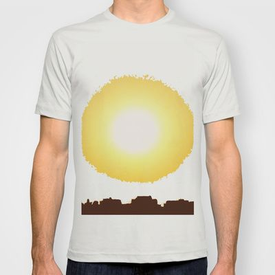 over town T-shirt by alkinoos