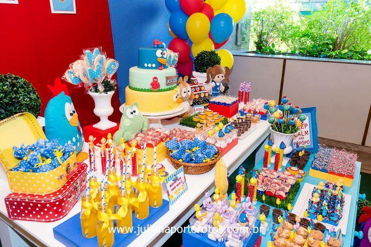 Per Bambini Festas   Galinha Pintadinha para o Michel - 1 aninho