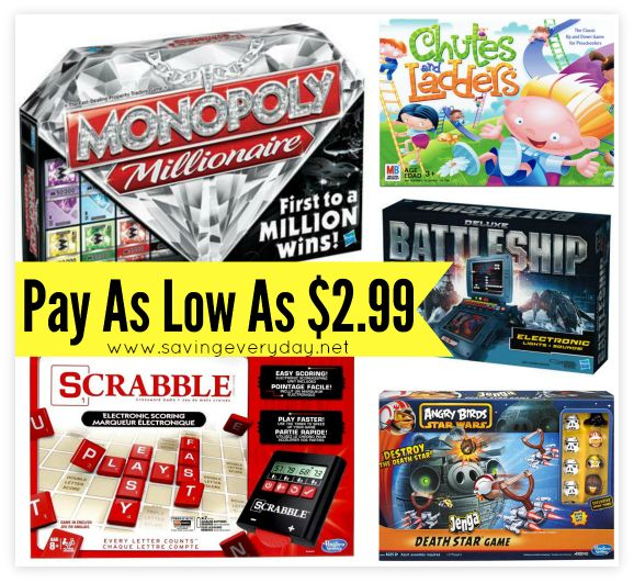 """Awesome Board Game Deals At Toys""""R""""Us, http://www.savingeveryday.net/board-game-deals/"""