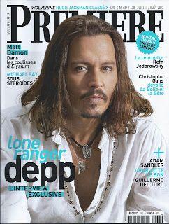 Extraits du sommaire du N° 437 juillet aout 2013. Interview Johnny Depp