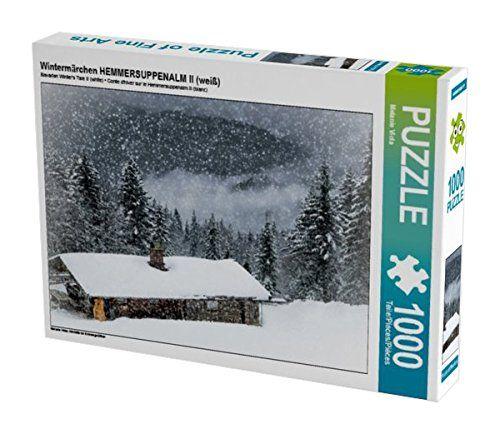Wintermärchen HEMMERSUPPENALM II (weiß) 1000 Teile Puzzle... https://www.amazon.de/dp/B01LF14NHS/ref=cm_sw_r_pi_dp_x_pxBoybNR79MH0 #Puzzle #Geschenk #gift #Spielzeug #Winter #Schnee #Hütte #Winterlandschaft #Wald #Weihnachten #Alm #Landschaft #Hemmersuppenalm #Bayern