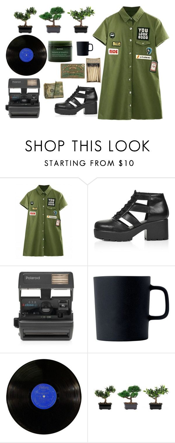 """This Is A Part Of Me"" by wrinklyprincess ❤ liked on Polyvore featuring Topshop, Impossible, Royal Doulton, Nearly Natural and Aveda"