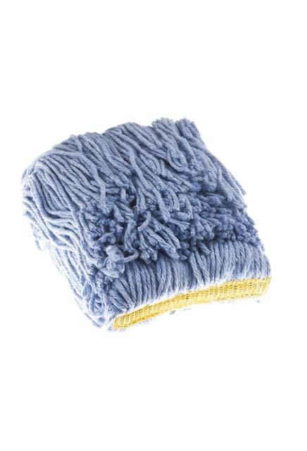Rayon Narrow Band Wet Mop: Rayon Narrow Band Wet Mop - Blue