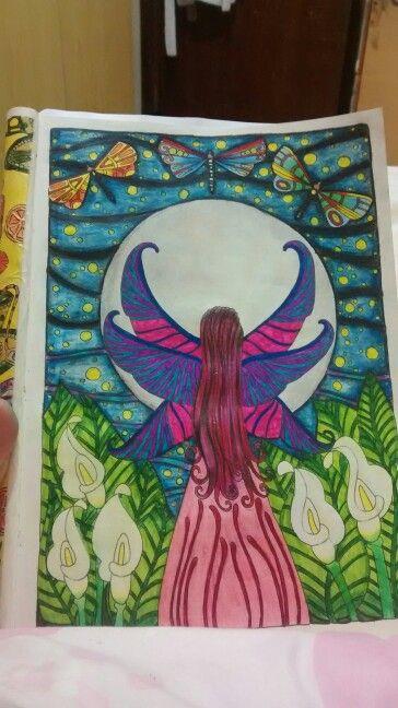 """Décima sétima ilustração de """"O livro anti-insônica"""". The Can't Sleep Colouring Book (Creative Colouring for Grown-Ups)"""