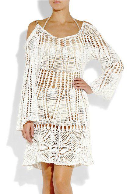 Crochet Short Dresses or Long Shirts