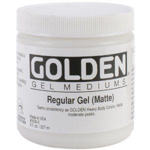 Golden - Regular Gel (Matte)