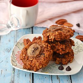 Chunky Monkey Cookies – Galletas Chunky Monkey