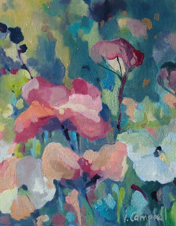 Meadow Melody by Izabela Campbell on ArtClick.ie Floral Still Life Art