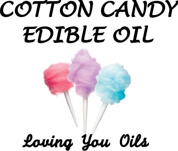 Cotton Candy Edible Oil by LovingYouOilsAndMore on Etsy