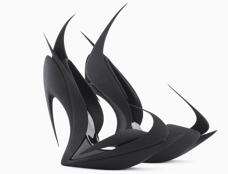 united nude + 3D systems present re-inventing shoes during milan design week