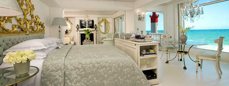 The Presidential Suite at The Oyster Box in Durban South Africa