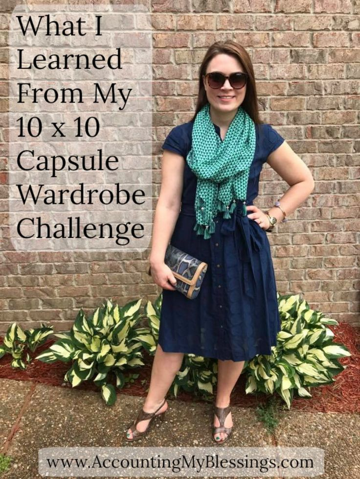 What I Learned From My 10 x 10 Capsule Wardrobe Challenge