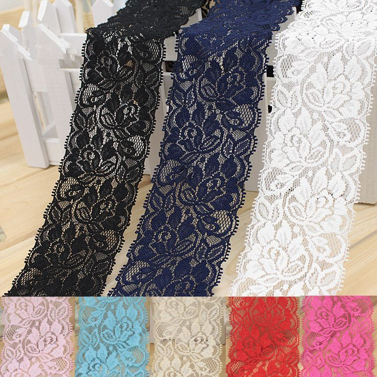 Cheap garment shop, Buy Quality garment studs directly from China garment workers Suppliers: 		Fabric Material: 6 cm stretch lace	Fabric Width: 6.5CM	Fabric Color :Black,pink,navy,red.light blue,light yellow,rice