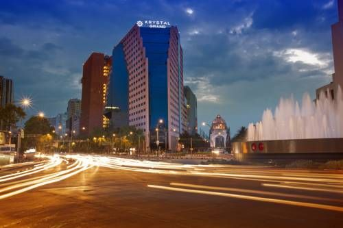 Krystal Grand Reforma Uno Mexico City (Reforma 1) This elegantly designed hotel is located along Mexico City's iconic Paseo de la Reforma avenue and offers quick access to the capital city's main sights, on-site gourmet restaurants and meeting facilities. #bestworldhotels #travel #mx #mexico